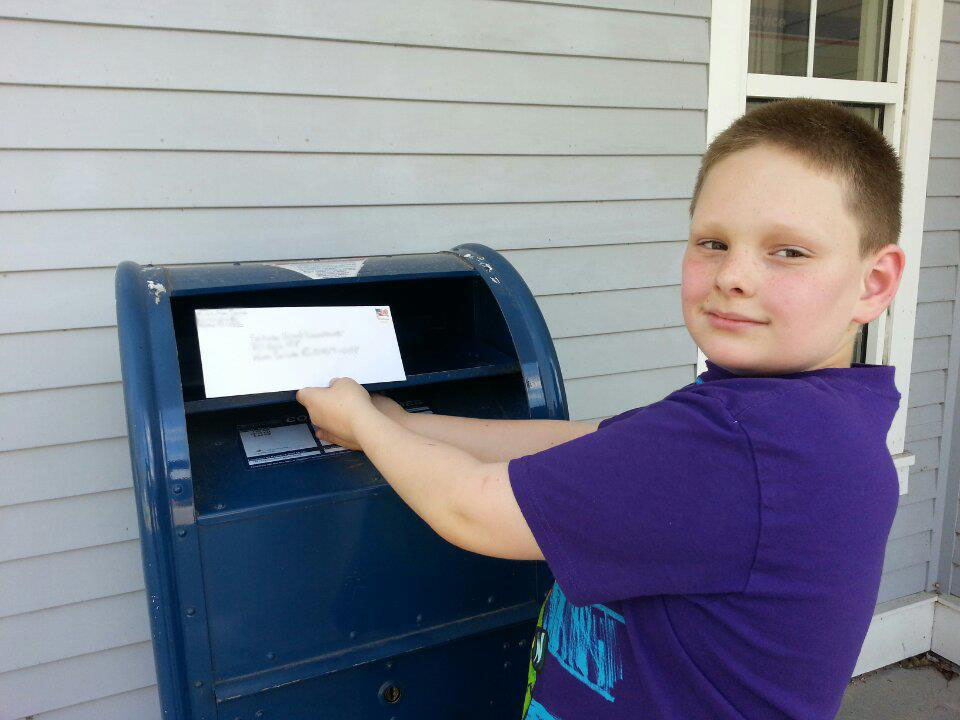 Mailing My First Letter of Intent